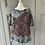 Thumbnail: Paul & Joe green and purple metallic blouse UK 10