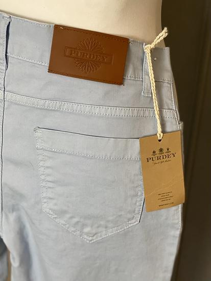 Purdey blue trousers BNWT UK12 rrp £180