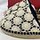 Thumbnail: Bonpoint BNWT espadrilles navy/cream 32