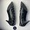 Thumbnail: Saint Laurent black studded shoes (39)