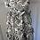 Thumbnail: DoDo BarOr black/white layered maxi dress UK12 rrp£525