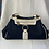 Thumbnail: Salvatore Ferragamo navy leather/canvas