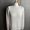Thumbnail: MiHi jeans white chunky cotton jumper with buttons down back  (Medium)