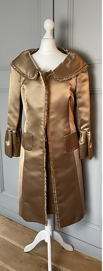 Bespoke two piece occasion dress and jacket Uk 10