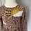 Thumbnail: Girls Mini Boden leopard print dress age 3-4