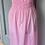 Thumbnail: Vintag Girls pink maxi dress age 10-14