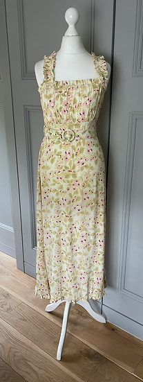 Faithful The Brand floral dress Uk XS rrp£265
