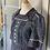 Thumbnail: Vintage 50s ladies blue tweed style dress. Uk10