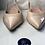 Thumbnail: Pretty Ballerina flat sling back nude shoes (41)