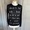 Thumbnail: Escada Sport black silk mix words jumper (S )UK8-12