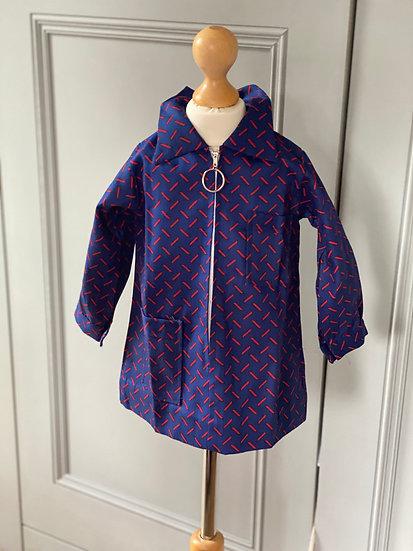 Girls/boys vintage (brand new) smock/jacket/dress  2/3/4yrs