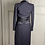 Thumbnail: Bruce Oldfield Couture navy tweed jacket and silk dress UK4-8