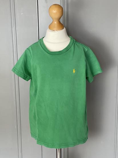 Boys green Ralph Lauren green T-shirt  age 4