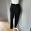 Thumbnail: Black Helmut Lang jersey comfy trousers UK S