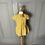 Thumbnail: Girls La Coqueta Yellow dress age 3 rrp£69