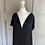 Thumbnail: Stella McCartney black shift dress (42) uk 10/12