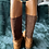 Thumbnail: Ralph Lauren purple label brown leather/suede riding boots. US10 Uk7.5/8