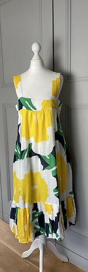 Diane vonFurstenberg linen dress Uk 10