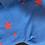 Thumbnail: Chinti & Parker cashmere jumper blue and neon orange stars. Uk10