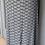 Thumbnail: Mint Velvet black and white shell skirt UK 16