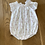Thumbnail: Trotters baby white base babygrow 6 months