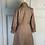 Thumbnail: Vintage 70s brown tweed midi dress UK, excellent condition UK6-8