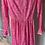 Thumbnail: Vintage pink midi dress Uk8