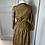 Thumbnail: Vintage checked shirt dress with ruffle. Uk6/8/10