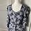 Thumbnail: Vintage Austrian heavy linen cotton floral dress. Uk10/12