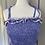 Thumbnail: Vintage purple maxi sundress uk 6-8