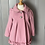 Thumbnail: BNWT Girls Monsoon Pink coat age 2-3 rrp£49