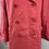 Thumbnail: Jaeger pink silky trench coat. Large