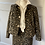 Thumbnail: M&S BNWT leopard print wool blend mini skirt. UK16