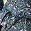 Thumbnail: Vintage Liberty (NEW) shirt dress in navy/pink/purple strawberry thief. 8-12