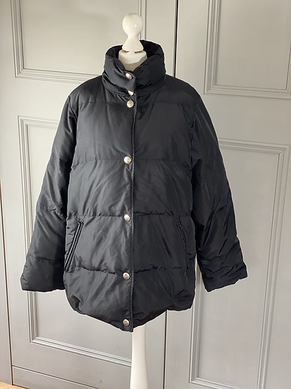 Vintage Max Mara Weekend down black jacket. 12/14