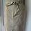 Thumbnail: BNWT H&M tan cotton midi skirt Uk 10