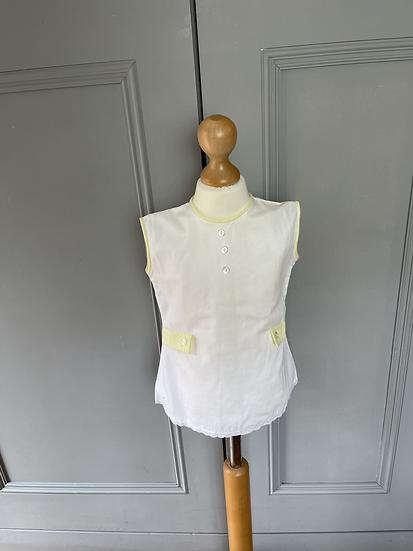 Vintage Cuckoo white dress age 18months