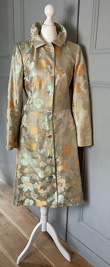 Nancymac brown long occasion jacket Uk8