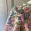 Thumbnail: Vintage 60s floral silk maxi (amazing) dress UK8/10