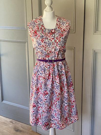 REDUCED>>>>>Vintage 70s floral summer dress UK14-18