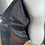 Thumbnail: Leather lightweight jacket dark brown. L/XL
