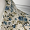Thumbnail: Vintage Laura Ashley cream/blue floral blouse UK12/14 modern size