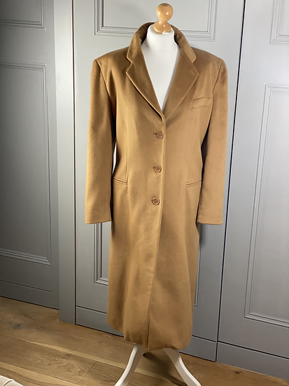 Vintage Armani 100% cashmere oversized coat. UK10/14