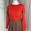Thumbnail: Vintage LIBERTY cotton/wool mix skirt NEW UK10-14