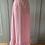 Thumbnail: Vintage pink gingham maxi cotton skirt UK6/8/10