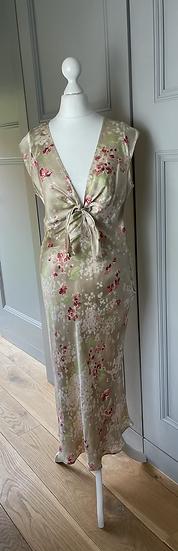 Gerard Darel silk floral dress UK10/12