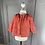 Thumbnail: Bonpoint girls cotton red shirt with white hearts. 18mths
