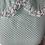 Thumbnail: Vintage mint/white midi dress UK 12