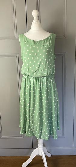 Laura Ashley green dress UK