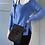 Thumbnail: Fendi black cross body cloth bag